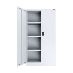 white stationery cupboard