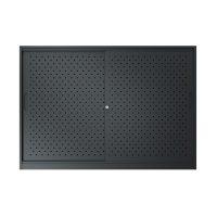 black sliding door cabinet