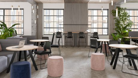 A Flexible Workspace break out space