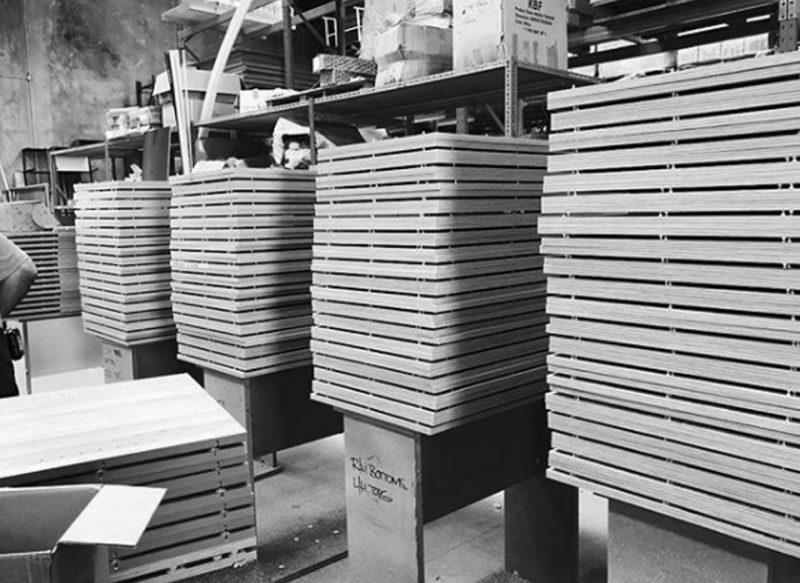 custom melamine manufactured in warehouse