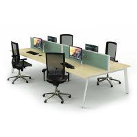 iSpace Form Back-to-Back Workstation