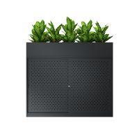 AusFile Sliding Door Cabinet (with planter box)